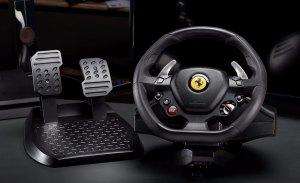 Thrustmaster presenta el volante T80 Ferrari 488 GTB Edition