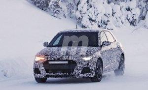 La nueva generación del Audi A1 Sportback vuelve a dejarse ver en los test de invierno