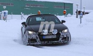 Audi TT Roadster 2019: las primeras imágenes del facelift durante sus pruebas