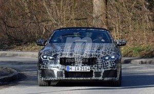 El nuevo BMW M8 Cabrio pierde camuflaje en unas nuevas fotos espía
