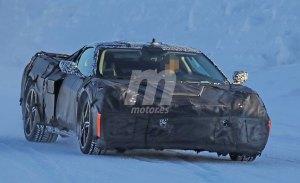 Los últimos prototipos del nuevo Chevrolet Corvette C8 en detalle