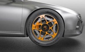 Continental presenta un nuevo concepto de rueda para vehículos electricos