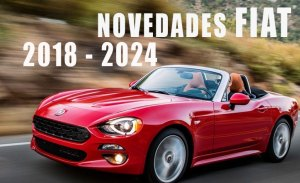 Desvelamos las novedades de Fiat de 2018 hasta 2022