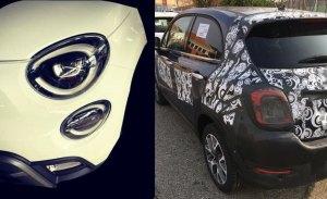 Fiat 500X 2019: la primera imagen al desnudo del nuevo facelift