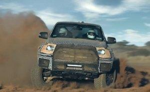 Nuevo vídeo del Ford Ranger Raptor antes de su presentación en febrero