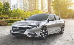 El Honda Insight 2019 será el sucesor del Civic Hybrid
