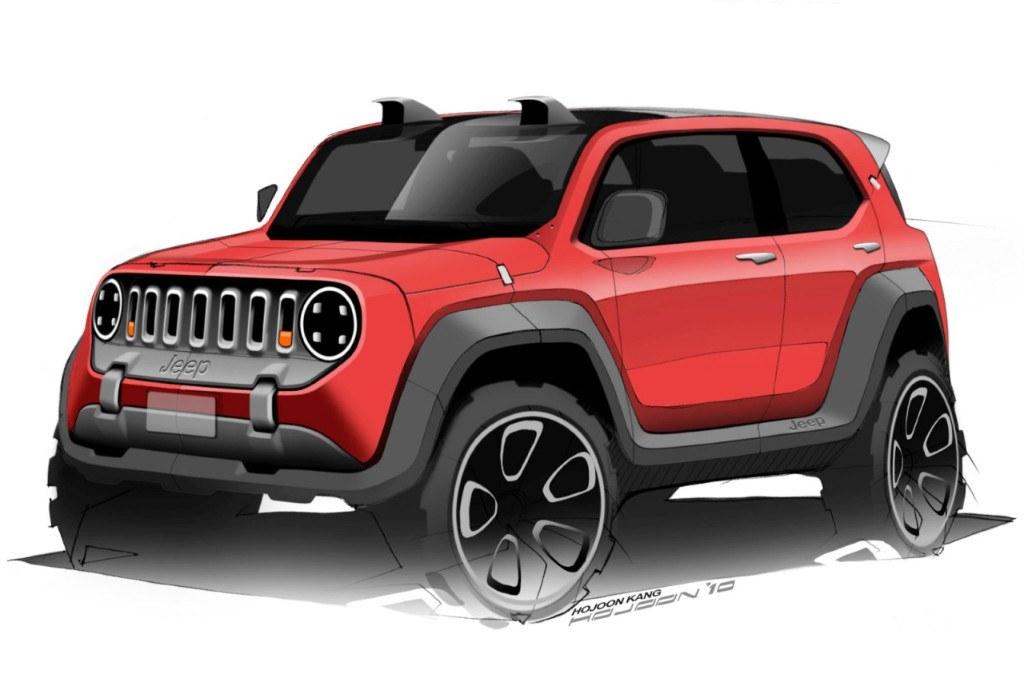 jeep confirma que estudia un nuevo modelo bajo el actual renegade. Black Bedroom Furniture Sets. Home Design Ideas