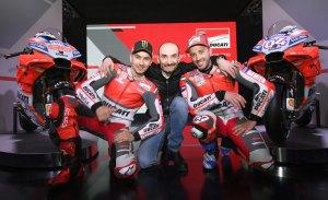 Lorenzo y Dovizioso presentan la nueva Ducati GP18