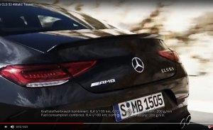 Mercedes adelanta el nuevo AMG CLS 53 4MATIC + a horas de debutar en el Salón de Detroit