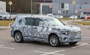 Mercedes GLB: cazado el nuevo SUV de la marca de la estrella