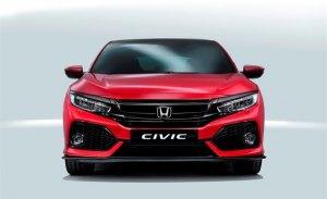Honda revisa los precios para toda la gama Civic en 2018