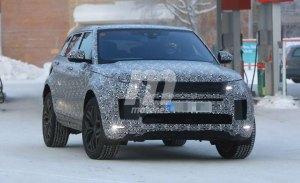 Los prototipos del nuevo Range Rover Evoque 2019 en 50 fotos espía