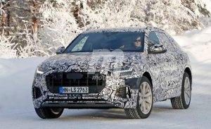 El nuevo Audi SQ8 cazado durante sus pruebas de invierno