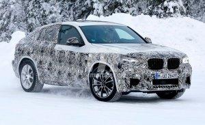 BMW X4 M 2019, la versión más radical realiza sus primeros test de invierno