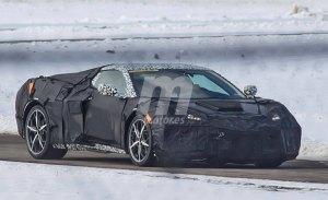 Los prototipos del Chevrolet Corvette C8 revelan nuevos detalles