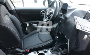 Nos asomamos al interior del Fiat 500X 2019 en estas nuevas fotos espía