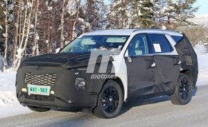 Hyundai ya trabaja en su nuevo SUV de 8 plazas