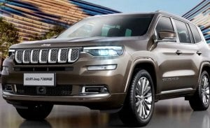 Las especificaciones del Jeep Grand Commander filtradas desde China