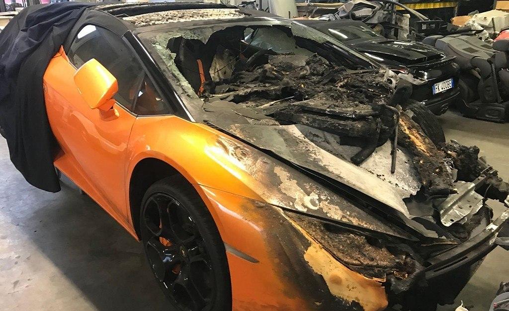 Imagenes De Un Lamborghini: ¿Pagarías 67.000 Euros Por Un Lamborghini En Este Estado