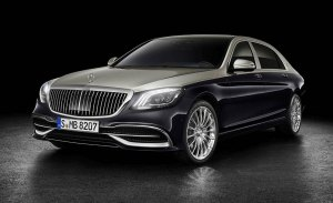 Mercedes-Maybach Clase S 2018: más lujoso y ostentoso