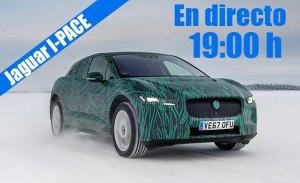 Sigue la presentación en directo del nuevo Jaguar I-PACE
