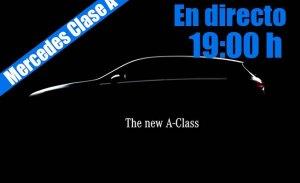 Sigue la presentación en directo del nuevo Mercedes Clase A 2018