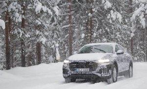 Audi explica las pruebas de invierno realizadas con el nuevo Q8