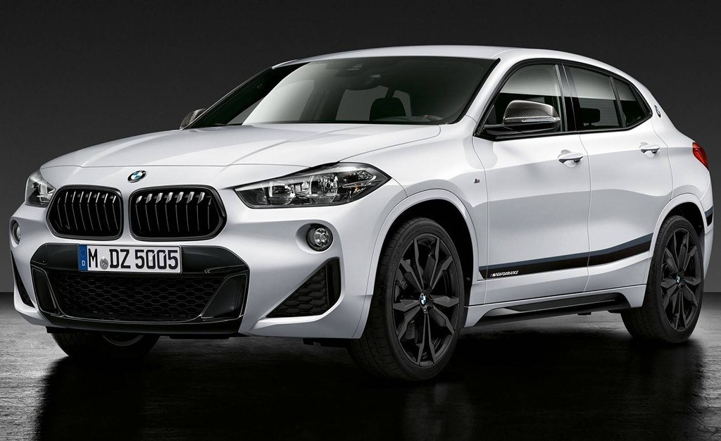 el nuevo bmw x2 ya luce con los accesorios m performance. Black Bedroom Furniture Sets. Home Design Ideas