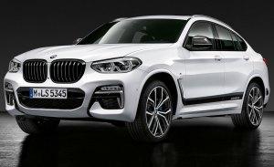 El nuevo BMW X4 se presenta junto a los accesorios M Performance