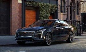 El actualizado Cadillac CT6 2019 se descubre en Nueva York 2018