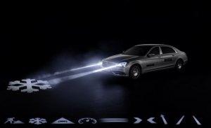 El renovado Mercedes-Maybach Clase S estrena la iluminación Digital Light en el Salón de Ginebra