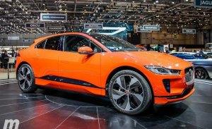 Escucha el sonido del Jaguar I-PACE cuando acelera a fondo en este vídeo