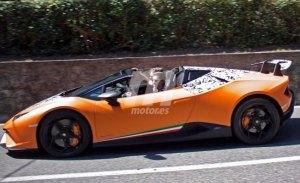 Lamborghini nos adelanta el Huracán Performante Spyder con un teaser