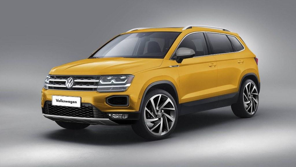 volkswagen tarek asi sera el aspecto del nuevo suv global motores