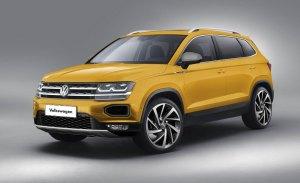 Volkswagen Tarek: así será el aspecto del nuevo SUV global