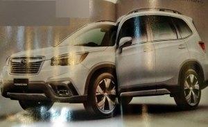 El nuevo Subaru Forester 2019 filtrado antes de su debut en Nueva York