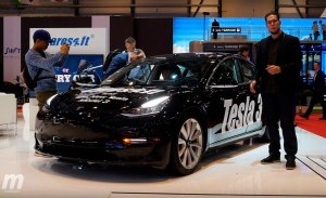 El nuevo Tesla Model 3 en vídeo, desde el Salón de Ginebra 2018