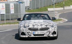 El nuevo BMW Z4 llega a Nürburgring para continuar sus pruebas dejando ver su nuevo interior