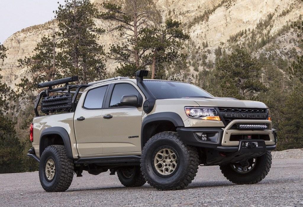Chevrolet Colorado ZR2 Bison: nueva versión off-road ...