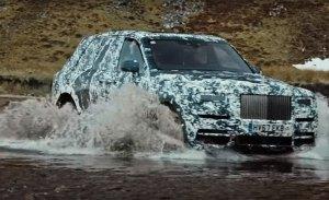 Rolls-Royce emite el segundo adelanto en vídeo del Cullinan desvelando su motor