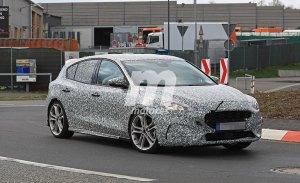 El nuevo Ford Focus ST 2019 se deja ver a su paso por Nürburgring