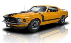 Ford resucita los clásicos Mustang Boss 302, Boss 429 y Mach 1 bajo licencia