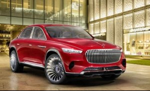 Vision Mercedes-Maybach Ultimate Luxury, el anticipo del crossover de lujo debuta en el Salón de Pekín