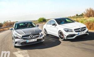 Mercedes CLA 200d y CLA 45 AMG, ¿cómo de diferentes son?