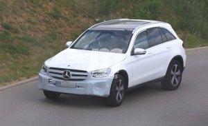 Mercedes ya trabaja en el lavado de cara del Clase GLC, llegará en 2019