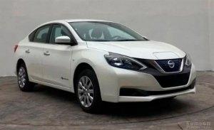 Nissan Sylphy EV: un nuevo coche eléctrico está listo para su debut en China
