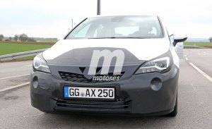 Opel Astra 2019: las primeras fotos espía del facelift del Astra