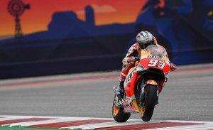 Pole y sanción de Marc Márquez en el GP de las Américas