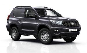 Nueva versión comercial del Toyota Land Cruiser solo para Reino Unido