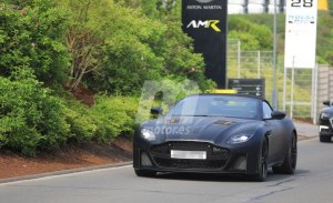 El nuevo Aston Martin DBS Superleggera Volante comienza sus primeras pruebas